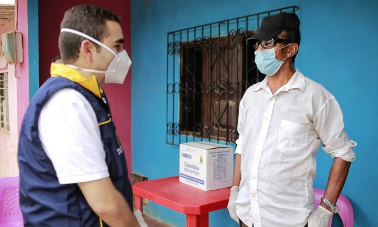 Gobernador Blel llegó a Mompox con más ayuda humanitaria