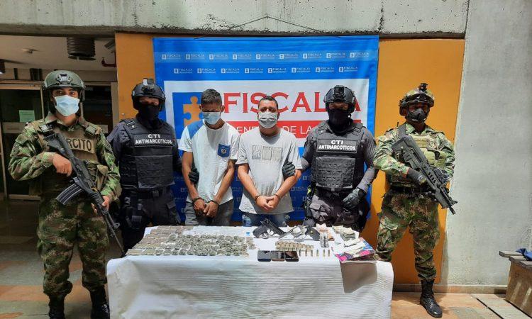 en desarrollo de la Operación Mayor José Inocencio Chincá que busca atacar el flagelo del narcotráfico, con el apoyo de la Fiscalía General de la Nación y atendiendo las alertas tempranas