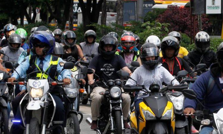 Con este nuevo modo se busca optimizar las rutas para las motocicletas. Foto: Jaiver Nieto / EL TIEMPO